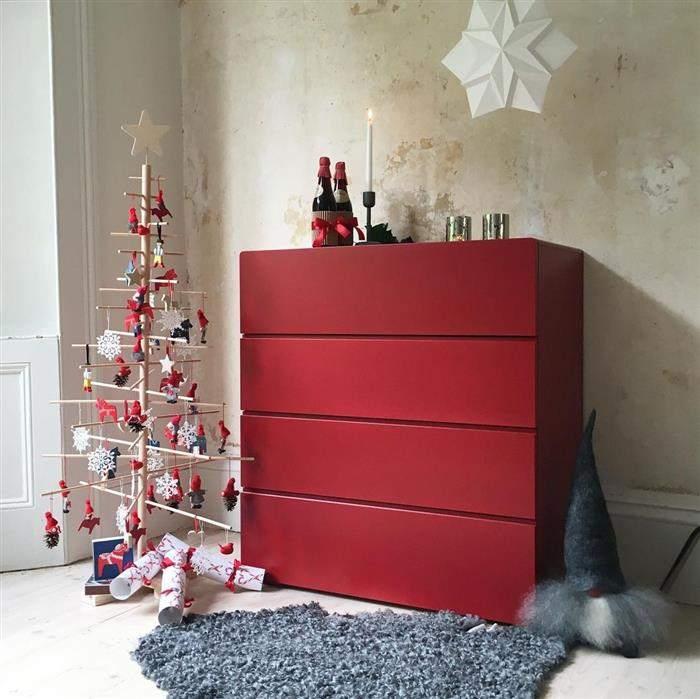 decoração de natal no quarto