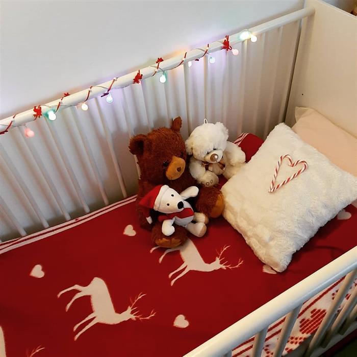 decoração de natal para berço