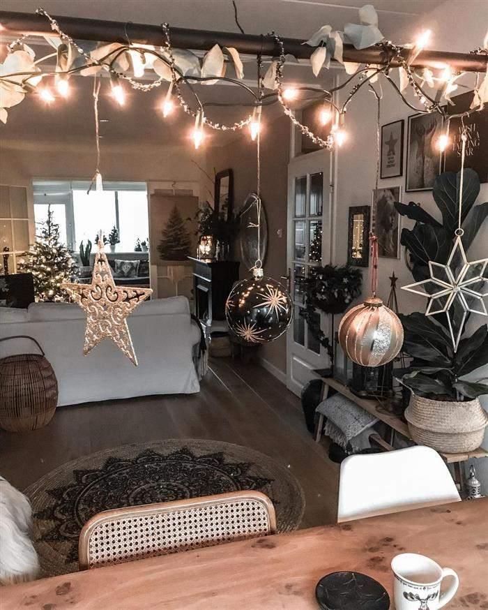 decoração natalina apartamento pequeno