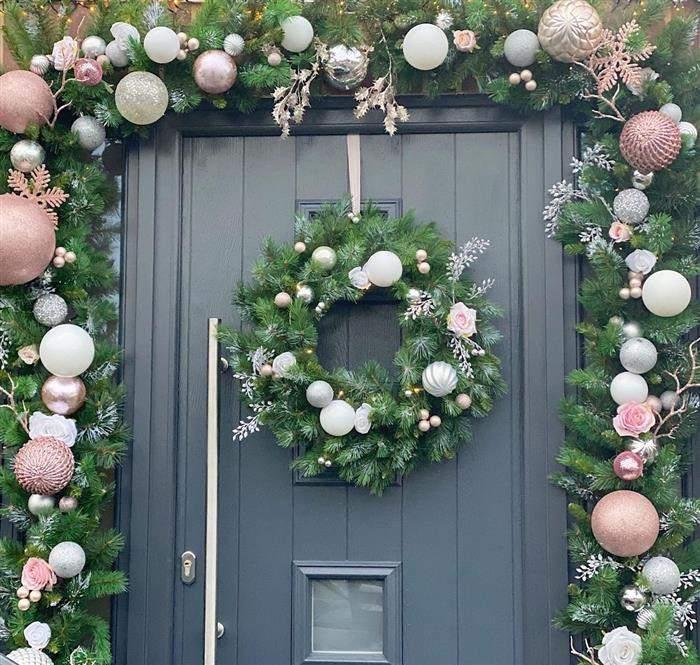 decoração natalina area externa