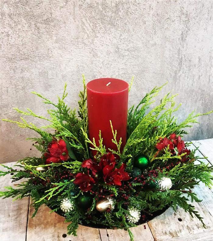 decoração natalina artesanal
