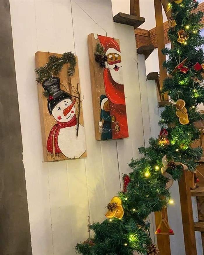 decoração natalina artesanato