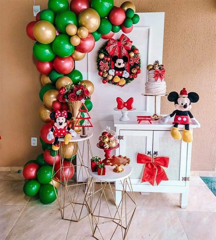 decoração natalina balões