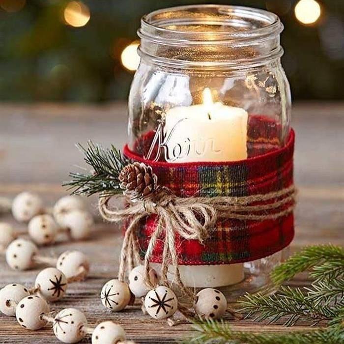 decoração natalina barata