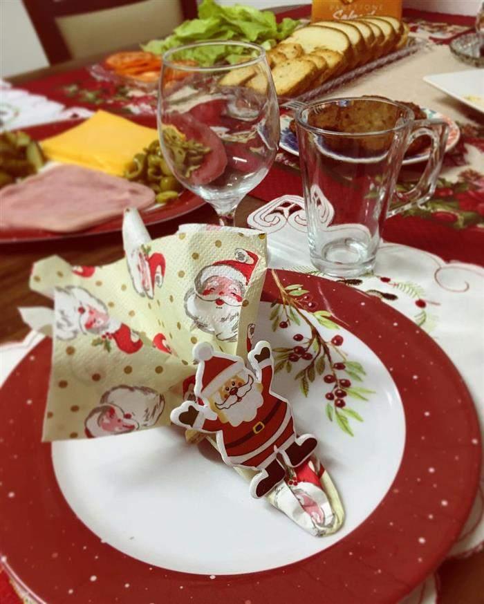 decoração natalina de papel