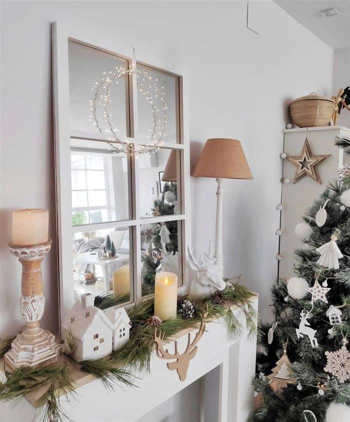 decoração natalina fachada