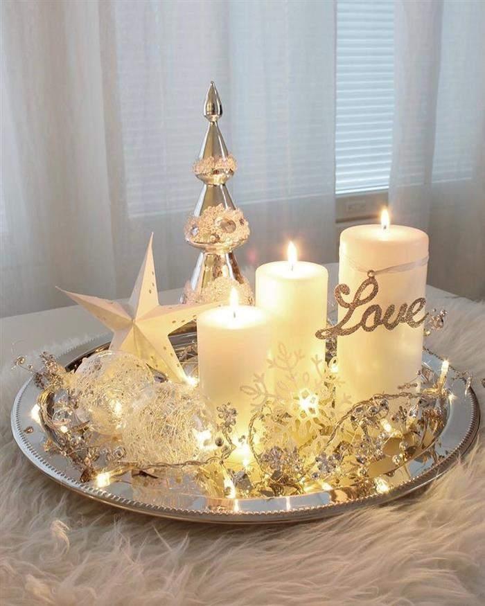decoração natalina facil de fazer