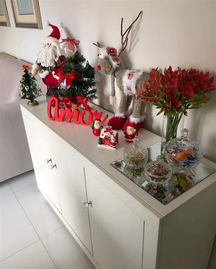 decoração natalina facil