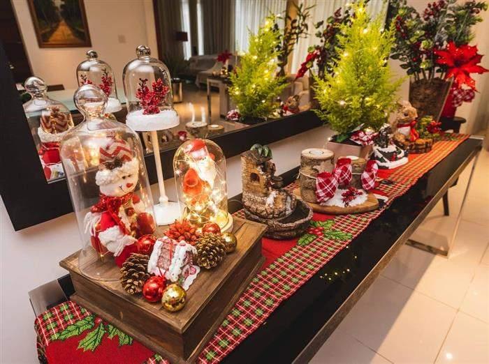 decoração natalina iluminação