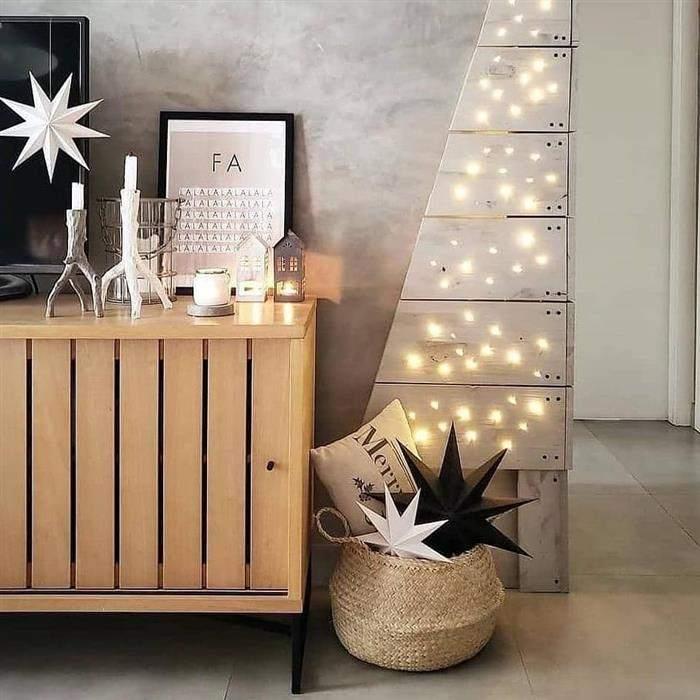 decoração natalina interior