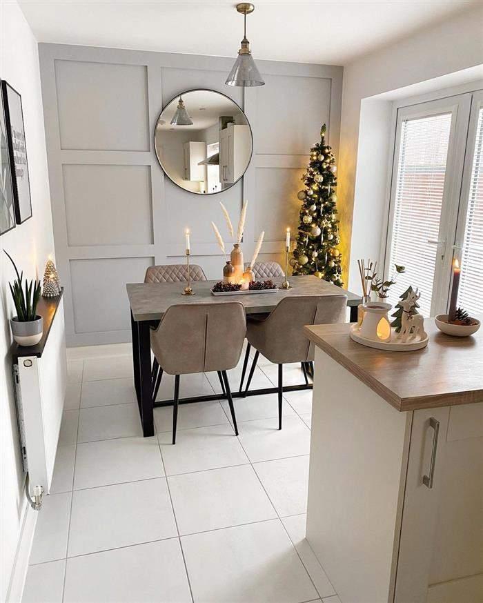 decoração natalina simples e barata