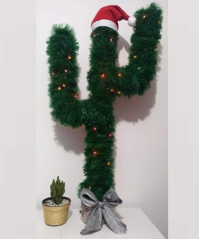 enfeite decorativo com festão