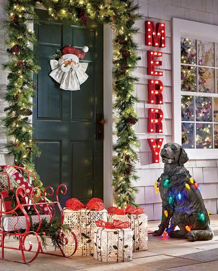 festão de natal artesanal