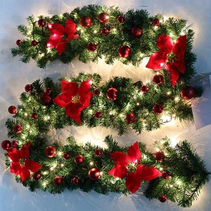 festão de natal decorado