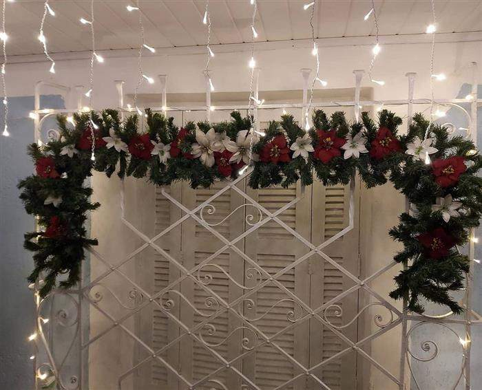 festão de natal largo
