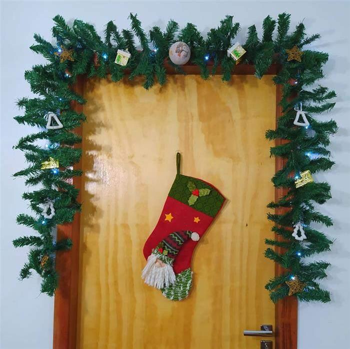 festão de natal simples