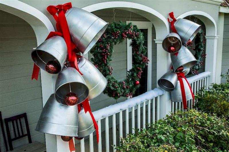 sinos natalinos para entrada