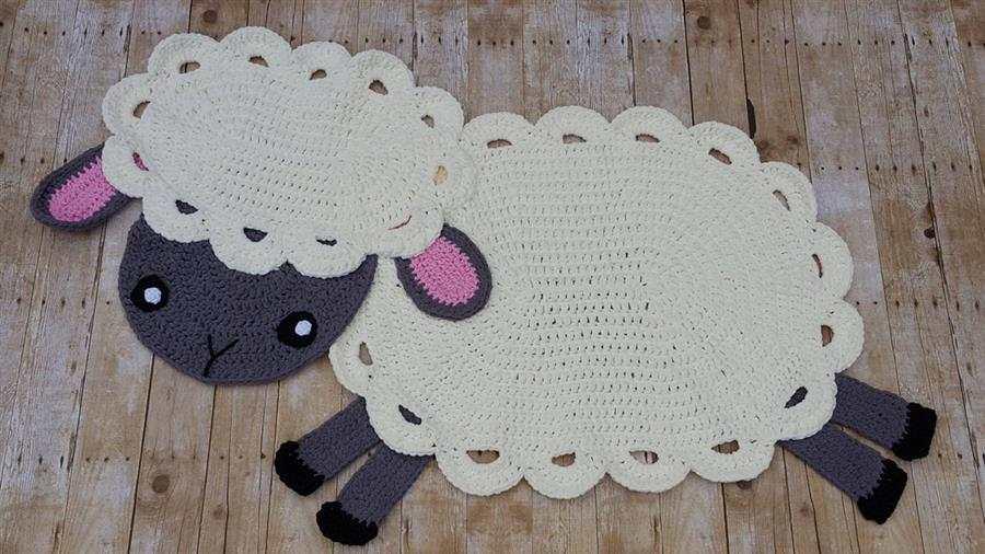 em formato de ovelha