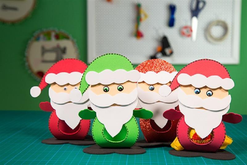 lembrancinhas de Natal em EVA para alunos
