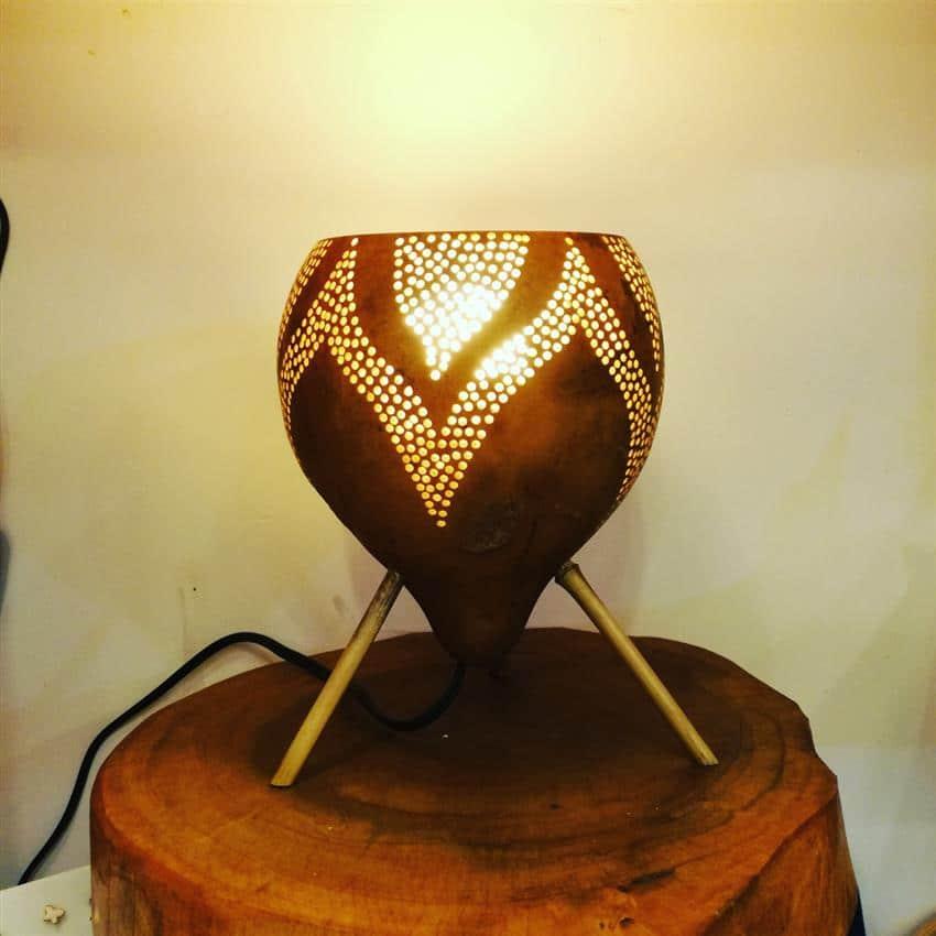 Luminária artesanal