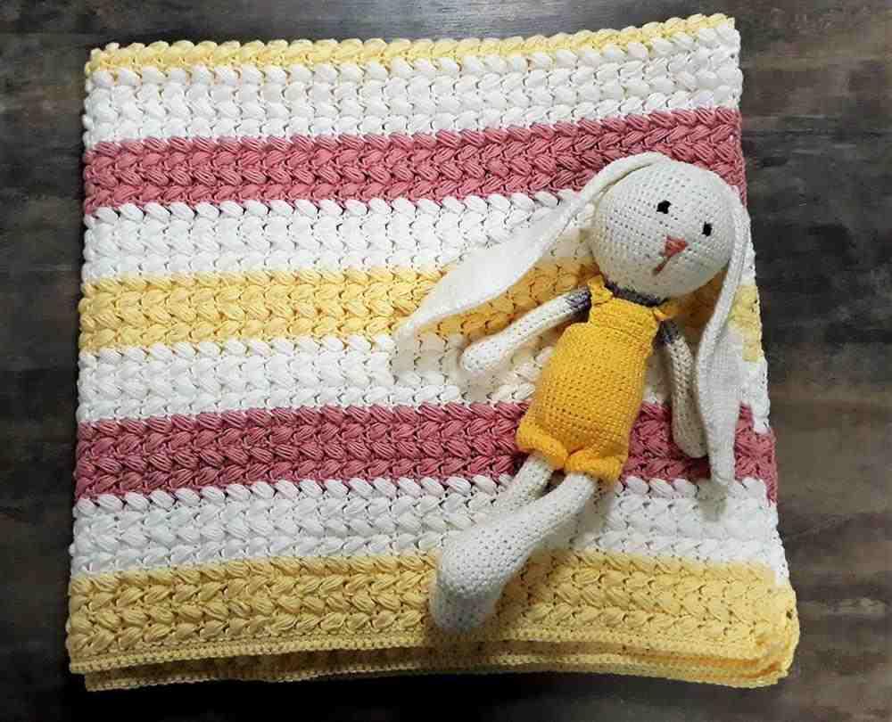 mantinha em croche
