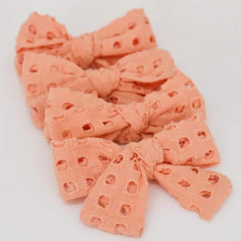 Laço de tecido laise