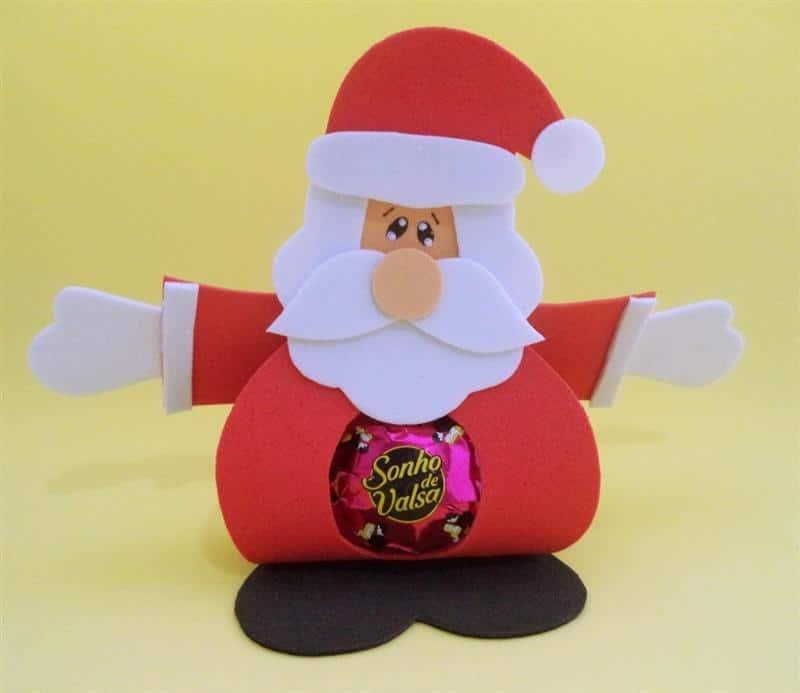 Papai Noel porta bombom