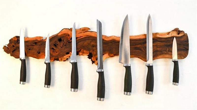 porta facas artesanal