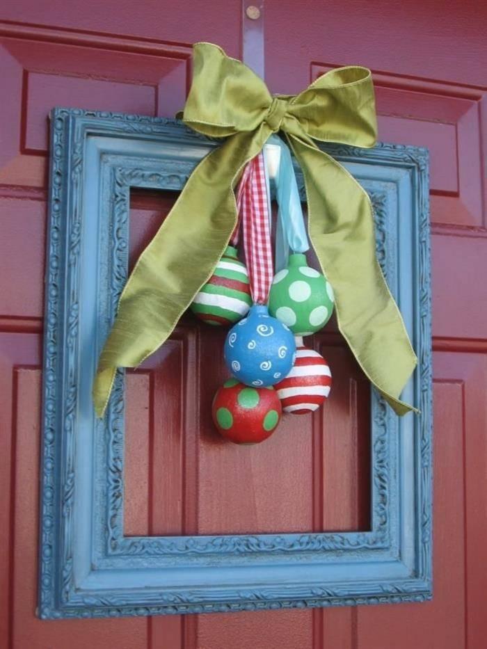 quadro de natal para porta