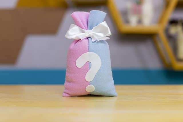 sacolinha surpresa de tecido