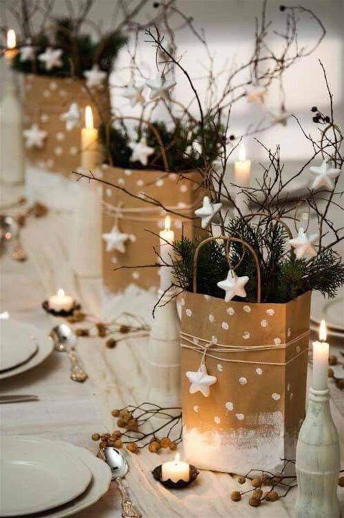 sacolinhas de papel decorada natal