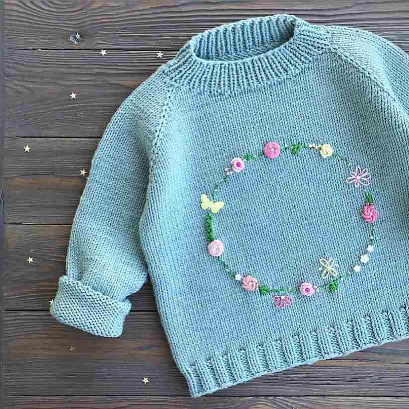 roupa infantil bordada