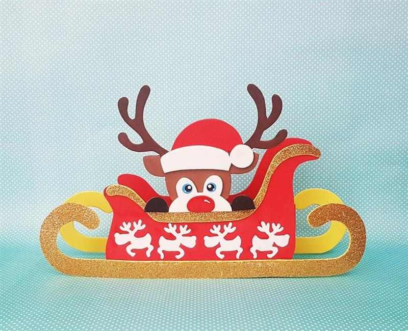 Centro de mesa de Natal porta doces