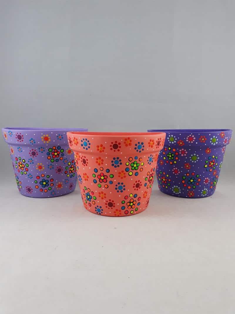Vasos de cerâmica