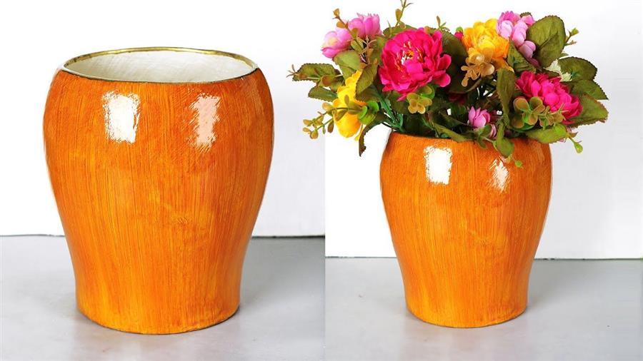 vaso de bexiga com cimentobranco