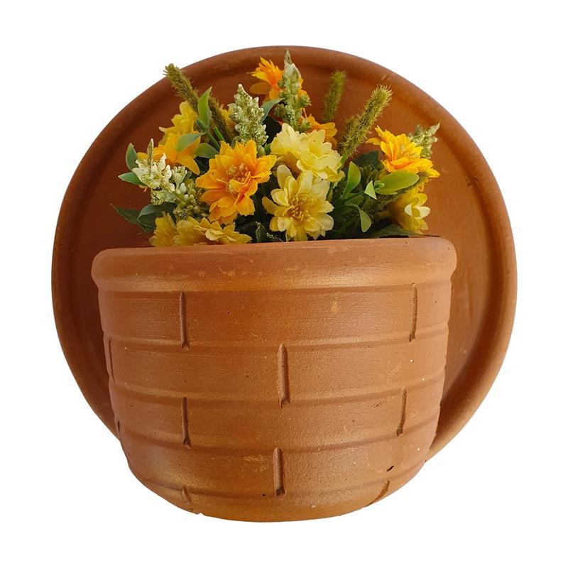 Vasos para jardim vertical de barro