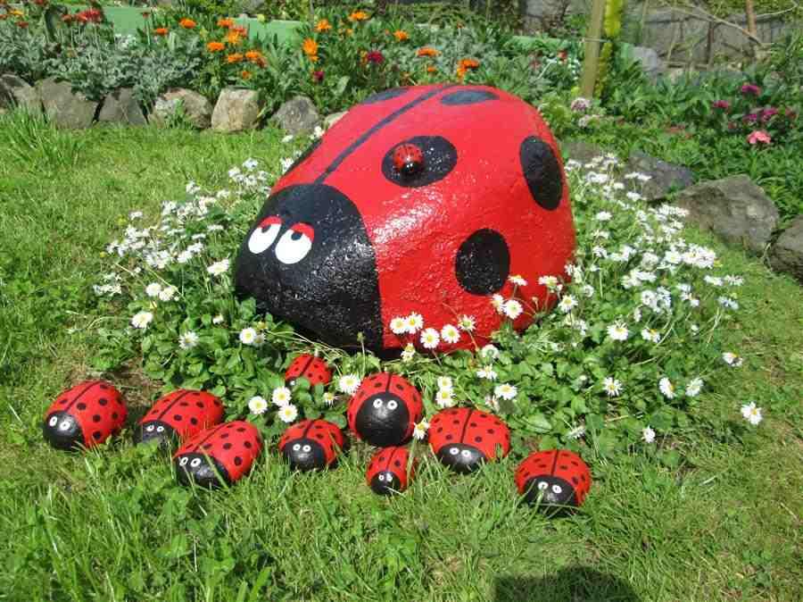 decoração do jardim