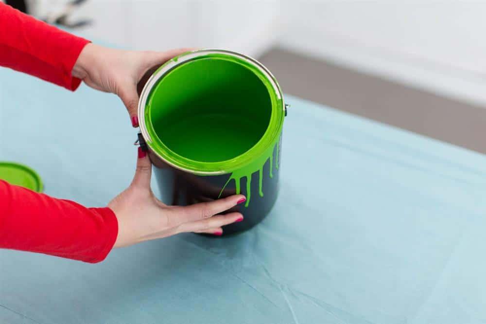 tinta para pintar mesa de plástico