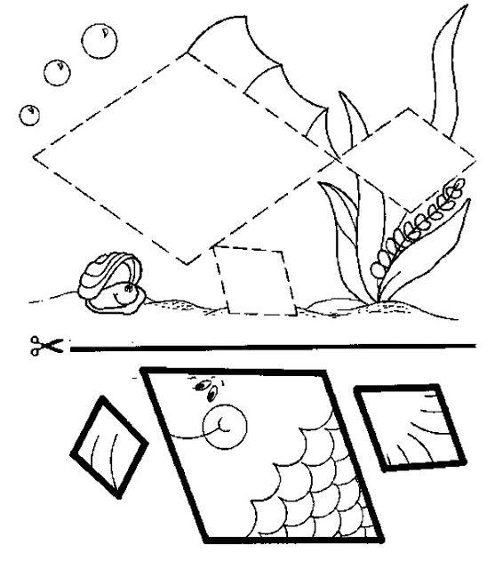 Desenho de peixinho para colorir