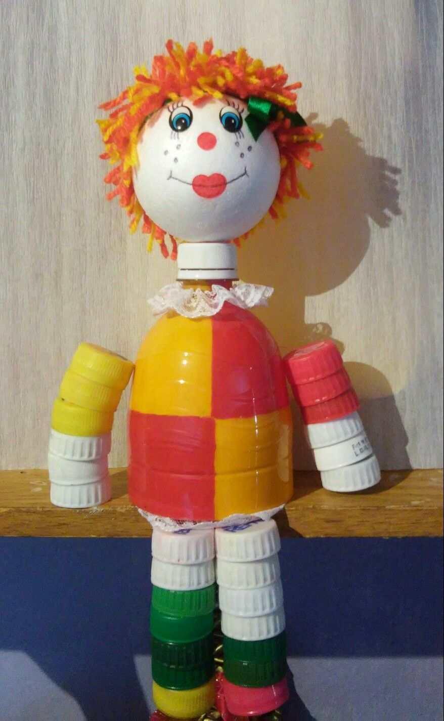 boneca emilia de reciclagem