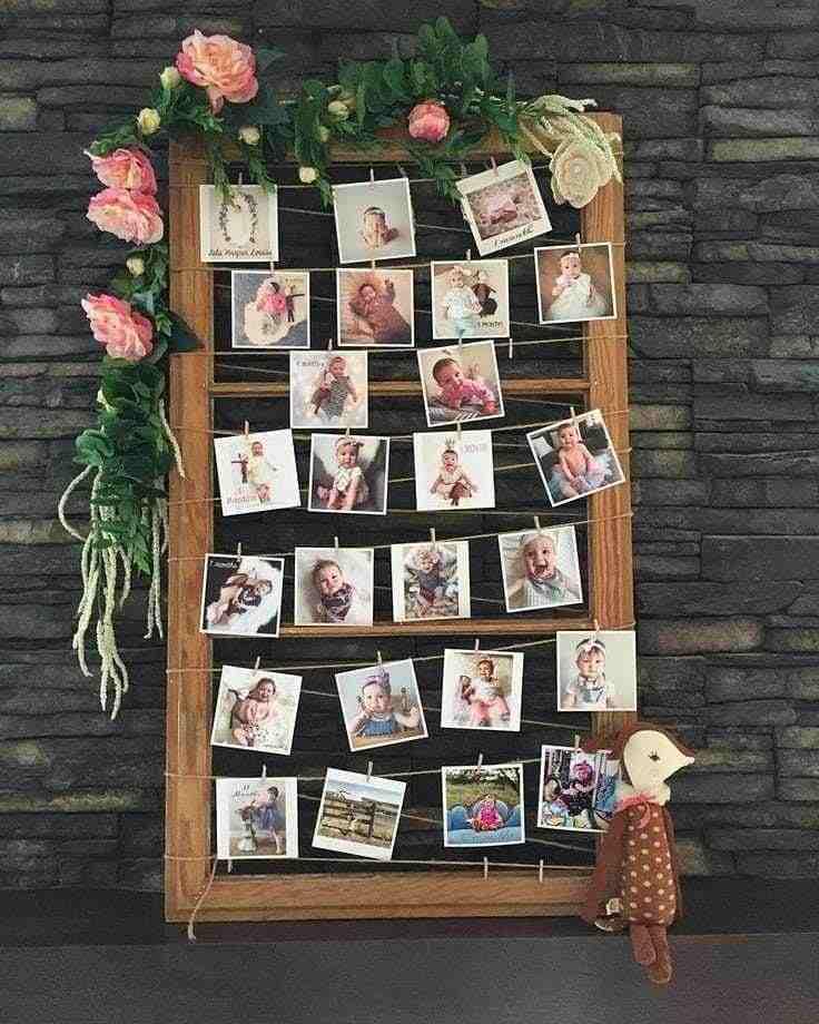 Folhagens e rosas