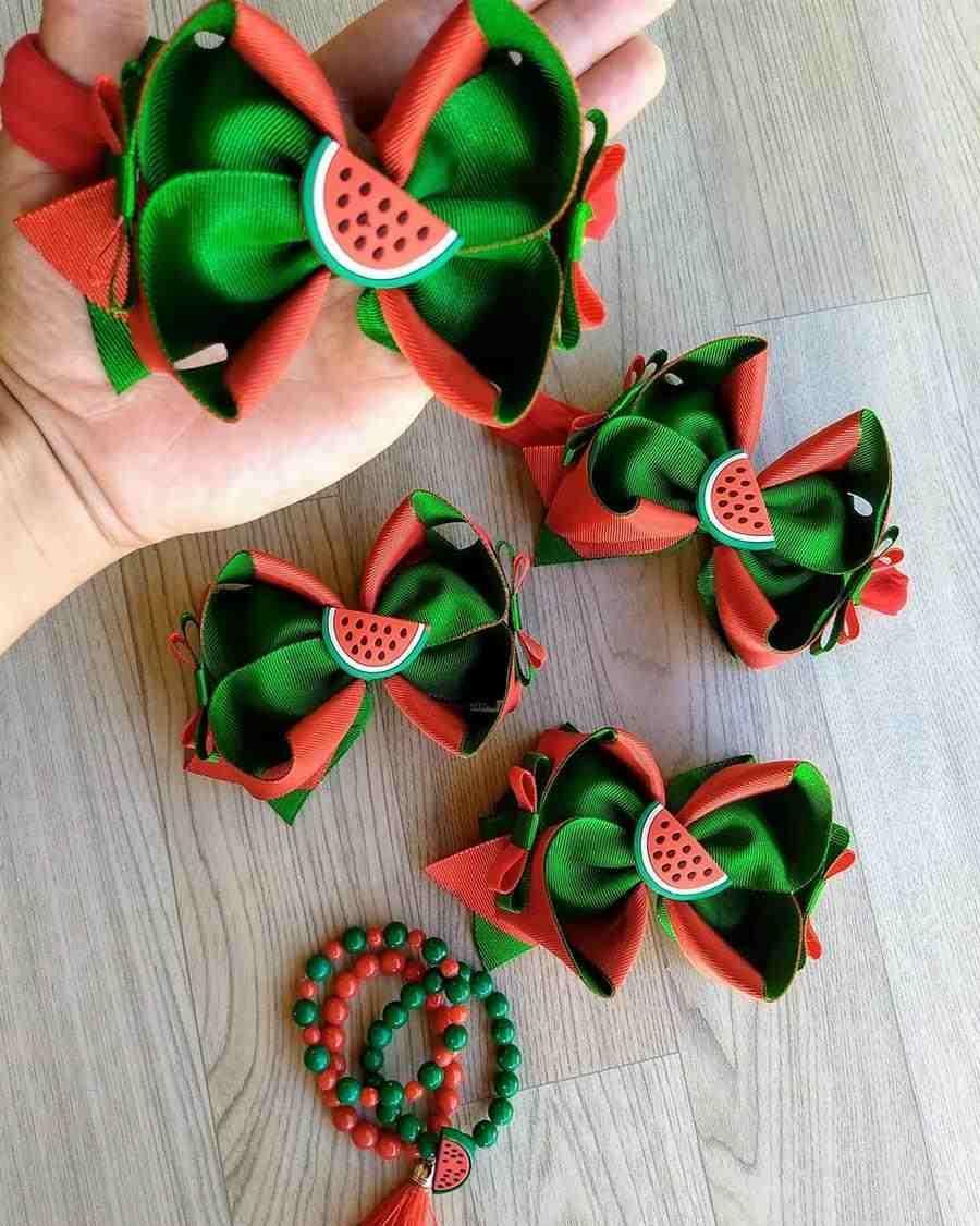 Laço amora melancia