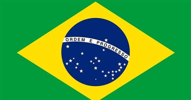 Formas geométricas da bandeira do Brasil
