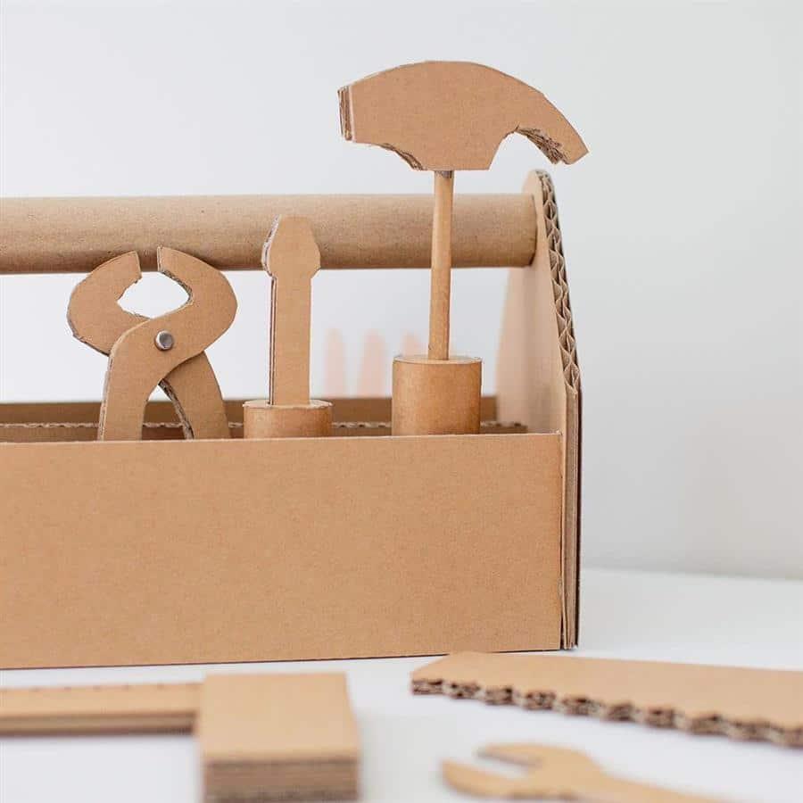Caixa de ferramentas de brinquedo