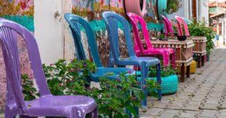 tinta para pintar cadeira plastica
