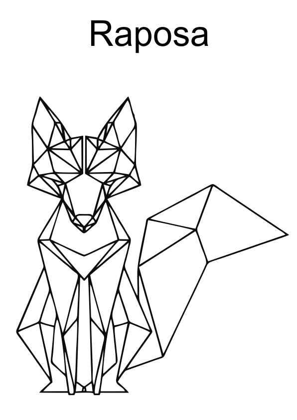 desenhos a partir de formas geométricas