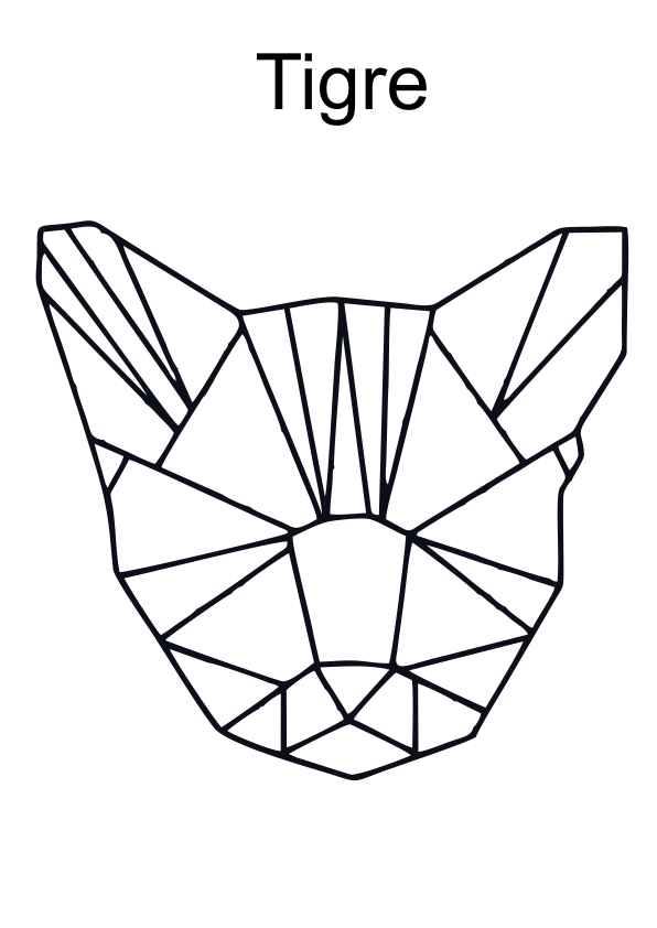 desenhos de animais com formas geometricas