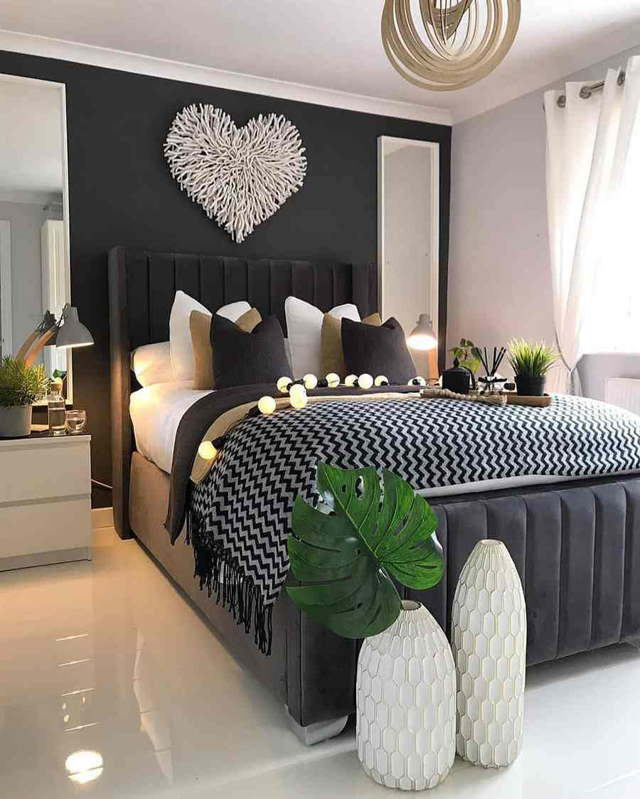 enfeites para quarto romântico