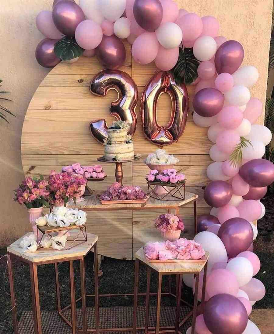decorar aniversario simples