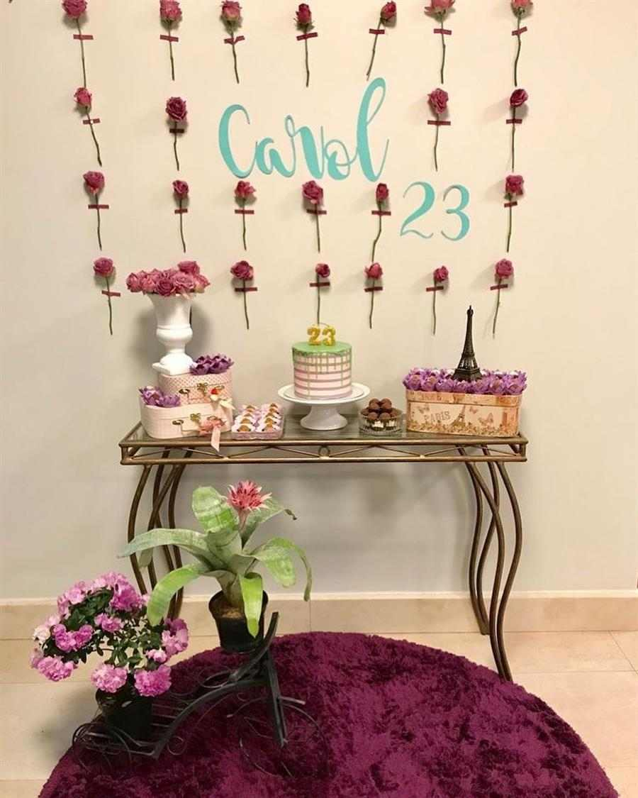 como enfeitar uma festa de aniversario simples feminina